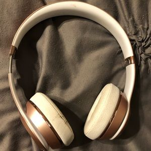 Other - Wireless rose gold beats